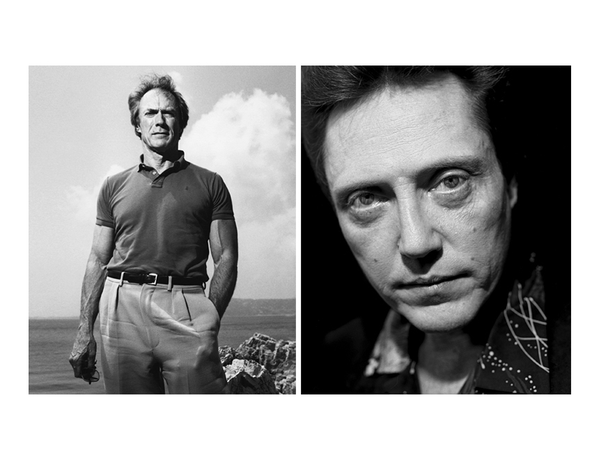 Clint Eastwood et Christopher Walken