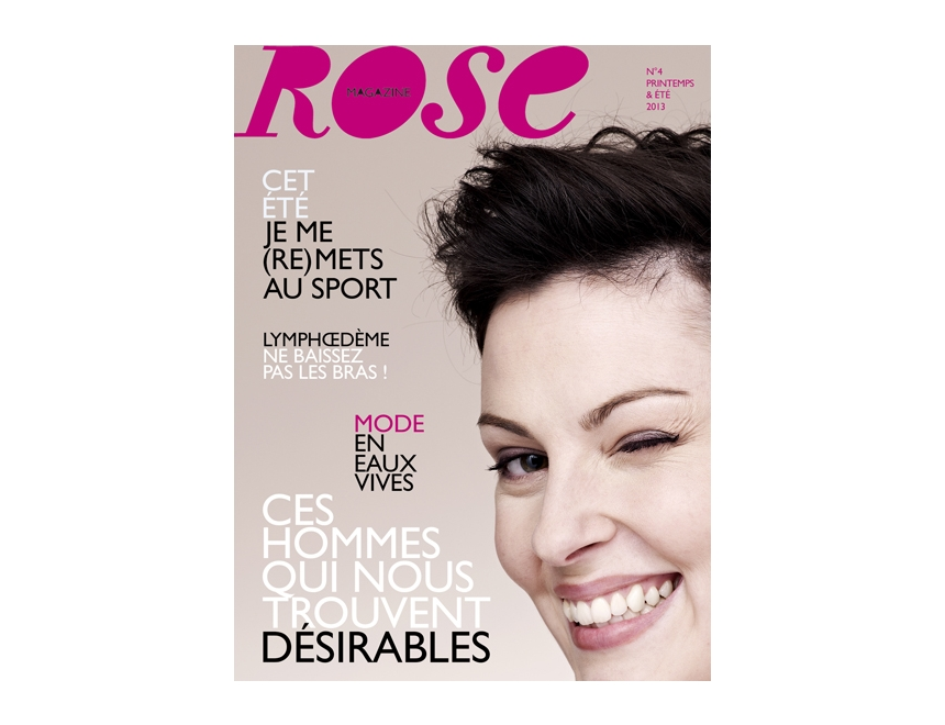 Rose magazine, photo by Thierry Rajic